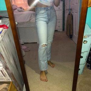 H&M Mom jeans